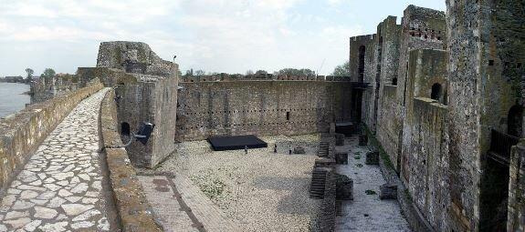 Вид на Малый град крепости Смедерево