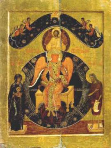 Икона «София Премудрость Божия». Начало XVII в.