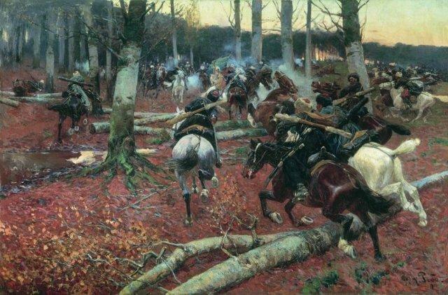 сцены Кавказской войны