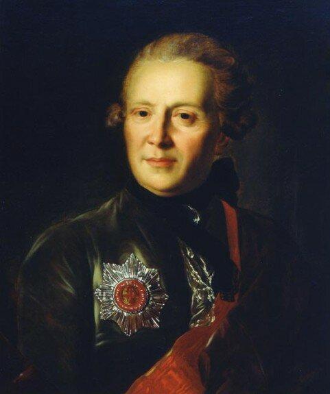 Портрет А. Сумарокова. Худ. Ф. Рокотов, 1770 г., Государственный художественный музей Латвии, Рига