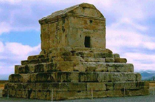 могила Кира в Пасаргадах