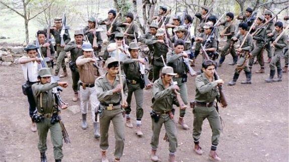 военный лагерь FARC