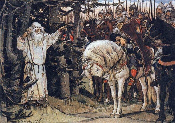 князь Олег и волхв