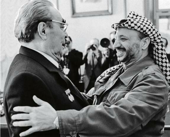 Ясир Арафат во время официального визита в Москву, 1968 г.