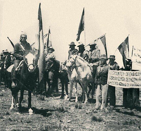 Аграрная реформа затронула и местное население (индейцев). Фото: 1952 г.