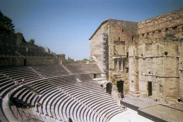 Римский амфитеатр в Париже. Наши дни.