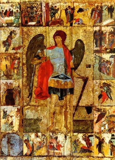 икона Архангел Михаил в деяниях