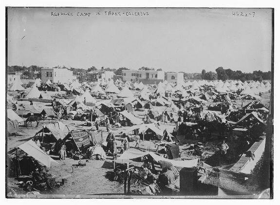 армянские беженцы в Эйнтабе