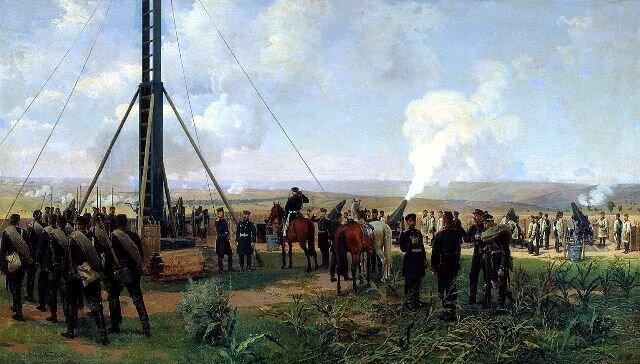 артиллерийский бой под Плевной