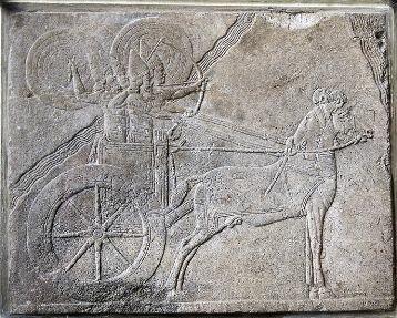 ассирийская колесница