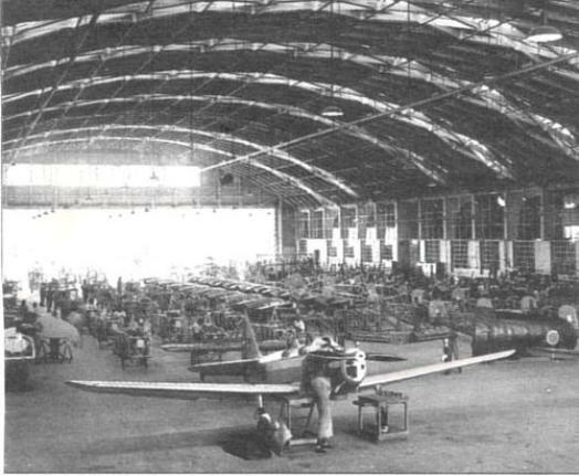 Авиазавод Fabrica Brasileira de Avioes. Фото: 1930-е гг.