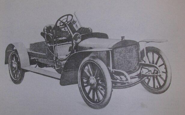 """""""Руссо-Балт-С24-30"""". Экземпляр №1. 1909 г."""