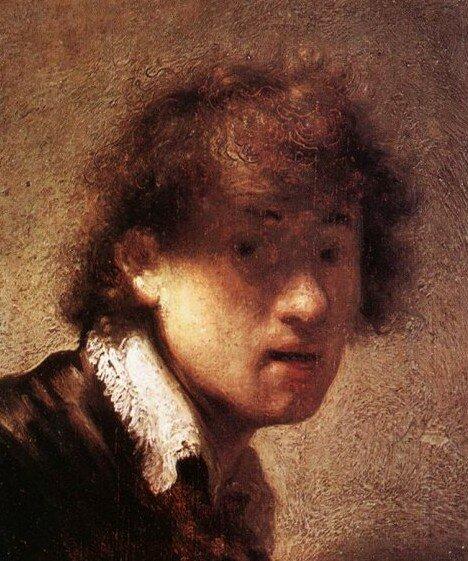 автопортрет Рембрандта