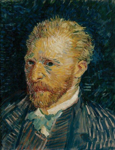 Ван Гог. Автопортрет. 1887 г., Частная коллекция в США