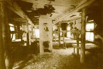 Барак в Карагандинском лагере