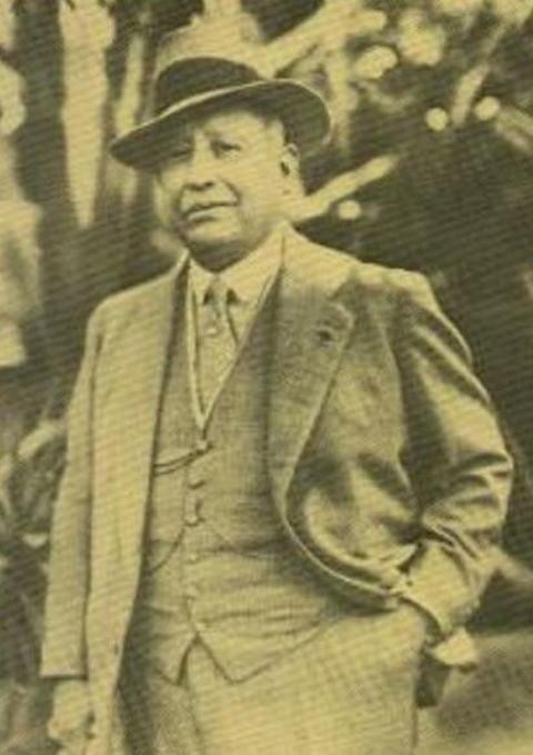 «Барон» Патиньо. Фото 1930-е гг.