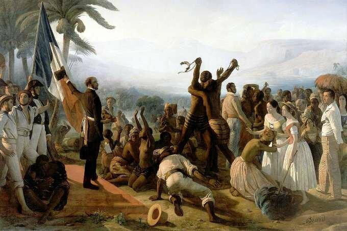 Отмена рабства. Худ. Бьяр