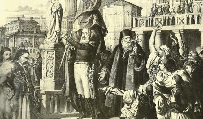благословление греческого восстания