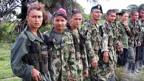 боевой отряд ФАРК