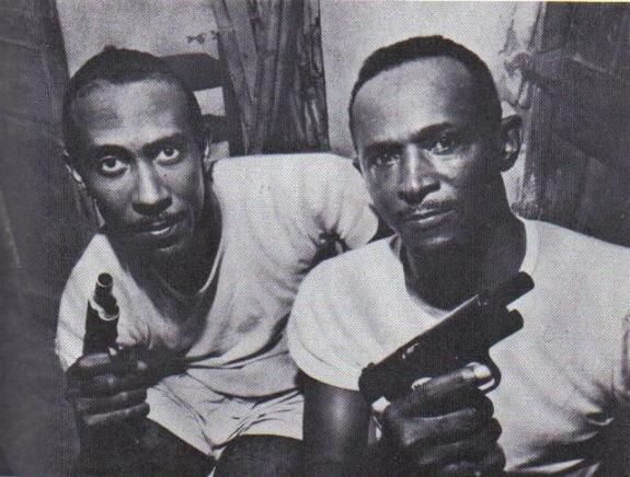 Братья Барбо – Клеман (слева) и Гарри. Фото: 1960-е гг.