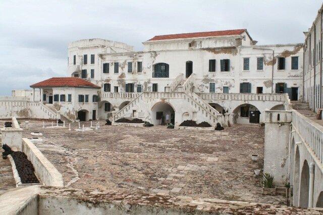 Замок Кейп-Кост в Гане