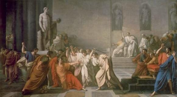 убийство Цезаря заговорщиками