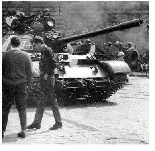 Советские войска в Чехословакии