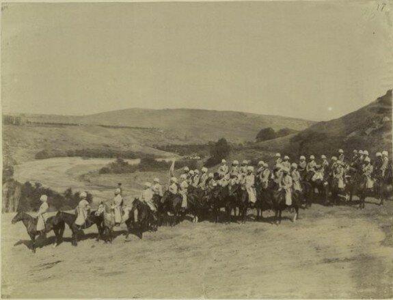 дагестанские всадники