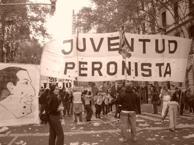 демонстрация перонистов