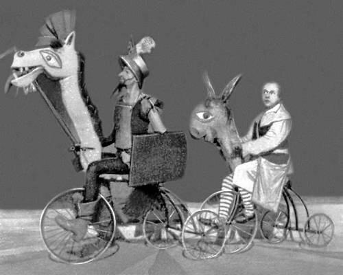 «Дон. Кихот» по М. С. Сервантесу. Ленинградский театр юных зрителей. 1926