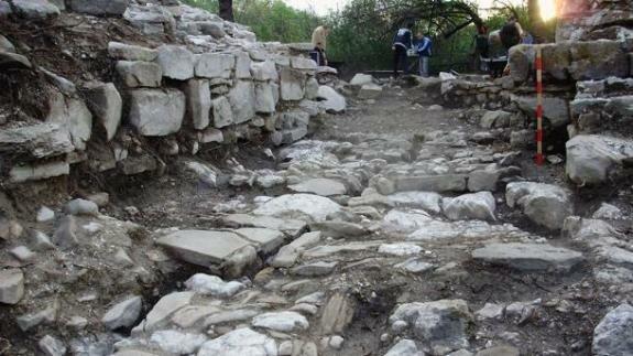 Древние руины в Велико-Тырново. © Фото: архив НАИМ
