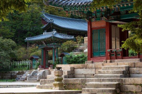 Один из дворцов династии Чосон – Чхандоккун