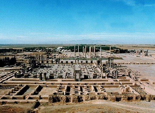 дворец Дария в Персеполисе
