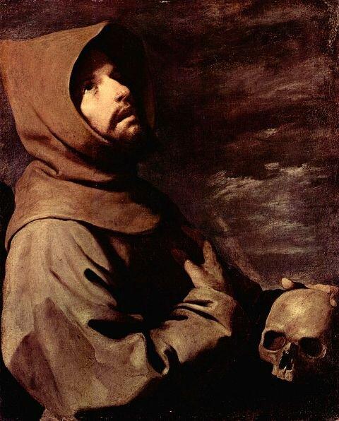 Экстаз Св. Франциска. Худ. Ф. де Сурбаран
