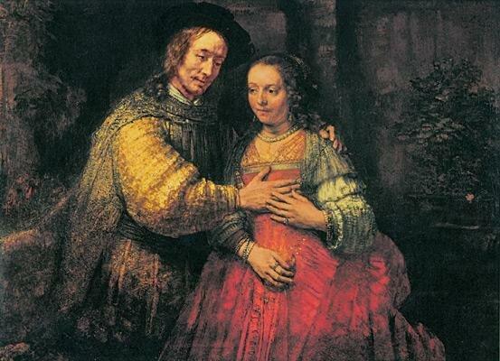 Еврейская свадьба Рембрандта