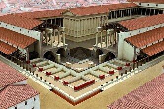 Реконструкция римского форума в Лютеции