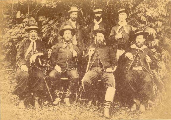 Гаучо, участники федералистской революции в Бразилии (1893-1895 гг.)
