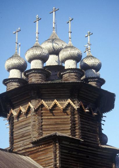 Покровская церковь в Кижах. 1764. «Городки»