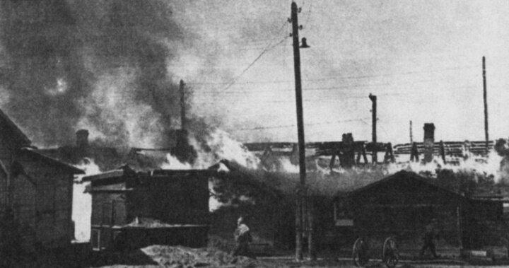 бомбардировка Мурманска