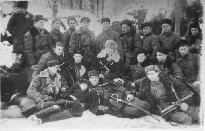 партизаны НКВД