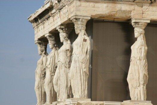 Храм Эрехтейон, 421-406 гг. до н. э., Афины, Греция
