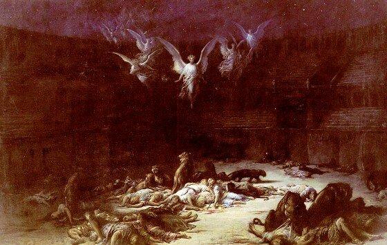 Худ. Г. Доре Христианские мученики