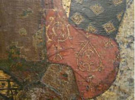 Икона св. Георгия. Новгородский Юрьев монастырь. Нач. XIV в.
