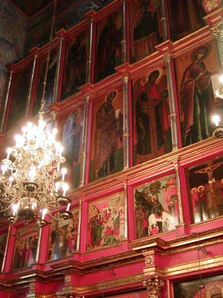 иконостас Архангельского собора