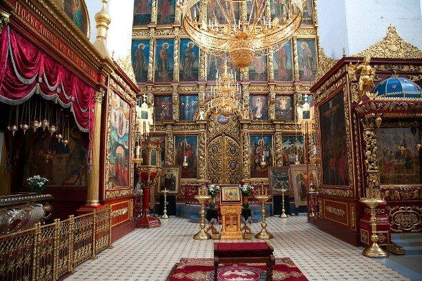 Иконостас Троицкого собора, г. Псков, XVII-XVIII вв.