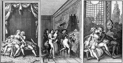 Иллюстрации к трудам де Сада