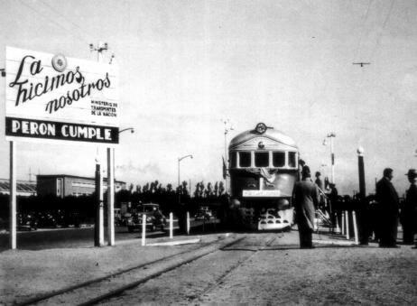 инаугурация аргентинского локомотива