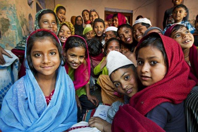 индийские школьницы