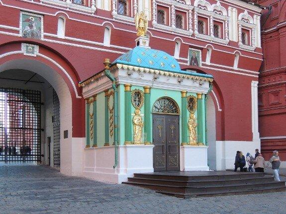 Иверская часовня. Красная площадь, Москва