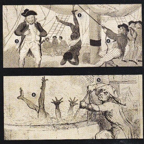 Карикатуры Круикшанка и Джиллрэя